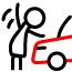 Дизайн передней части для защиты пешеходов